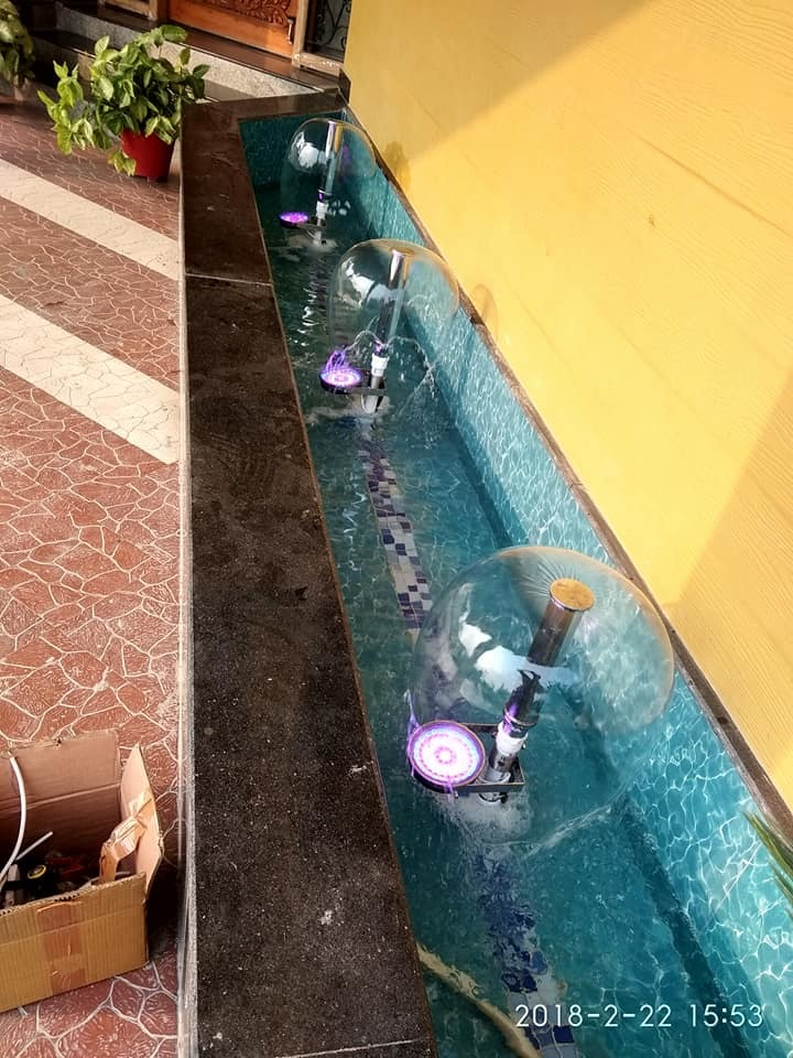 Fountain Nozzle - Foam Bell Geyser