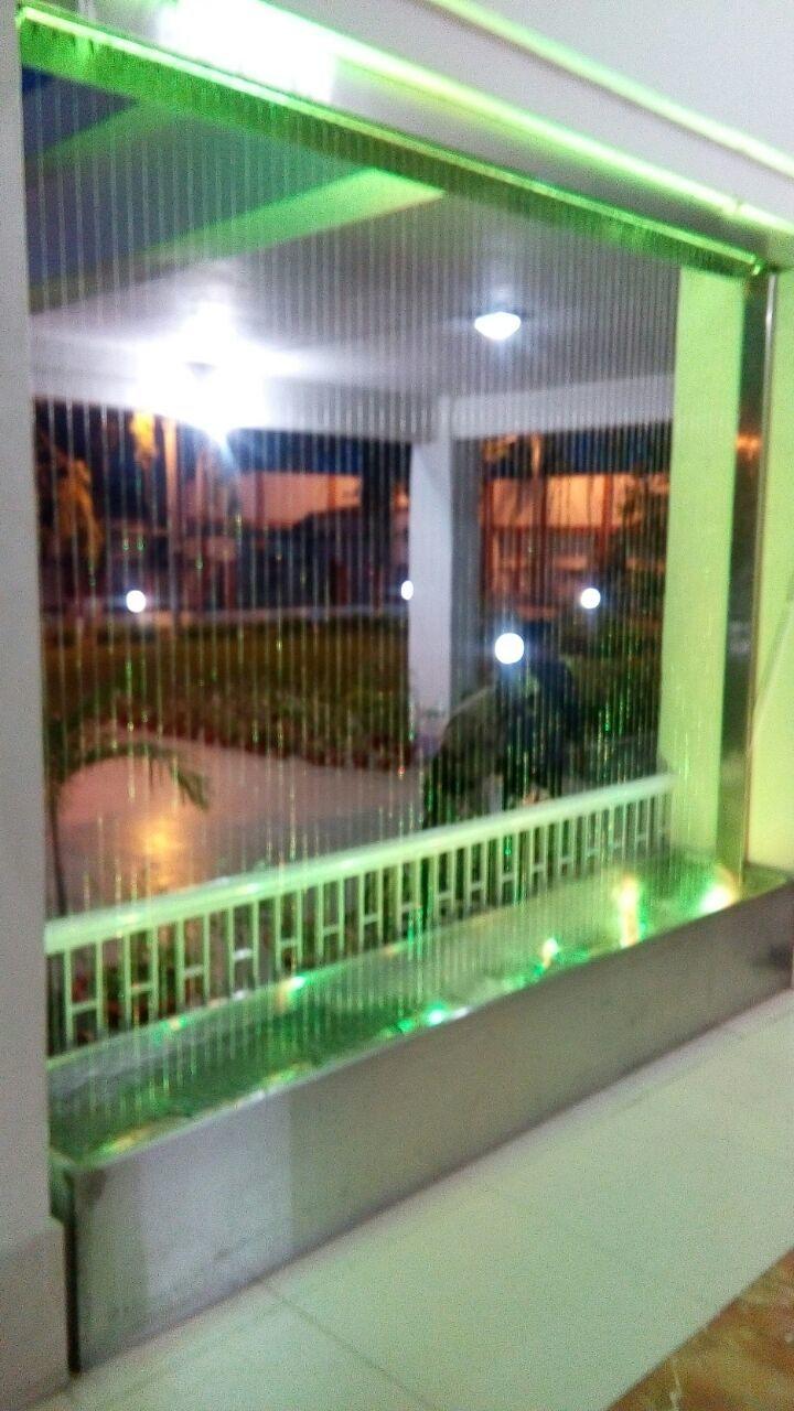 Rain Curtain Fountain