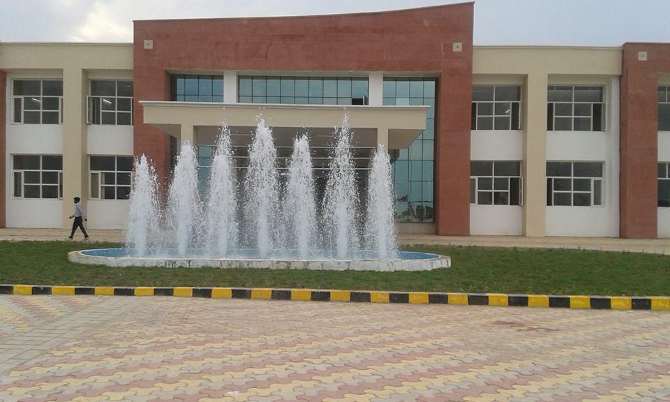 Foaming Fountain