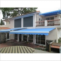 Blue Terrace Awnings