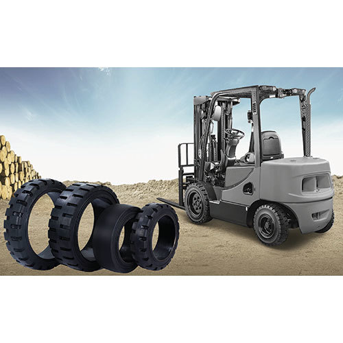 Royal Solid Forklift Tyres Press-On Tyres