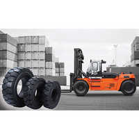 Royal Solid Cushion Tyres Forklift Tyres Container Handler Forklift Tyres