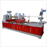 Semi Automatic Paper Tube Making Machine
