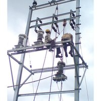 11KV Two Pole Structure Installation