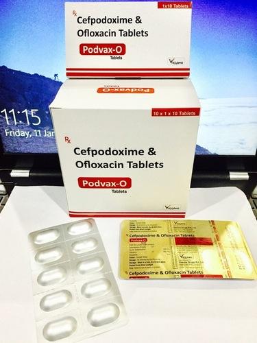 Cefpodoxime 200 mg + Ofloxacin 200 mg