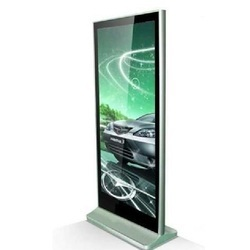 Wall-Mount LED Window Display Kiosk