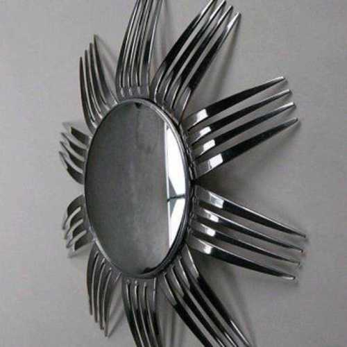 Fork Design Wall Mirror