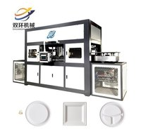Biodegradable paper plate machine