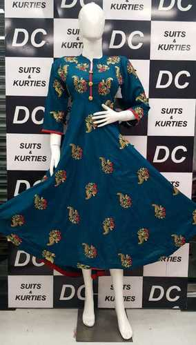 Designer Ethnic Cotton Kurti