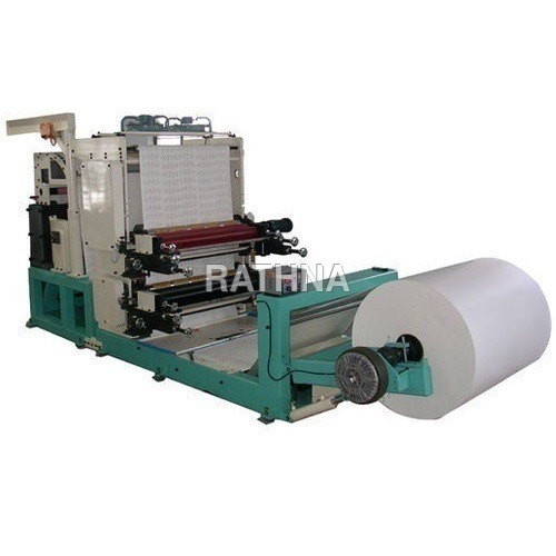 Two Colour Print cum Punching machine
