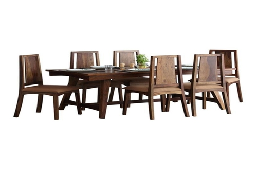 V SHAPE DINING SET