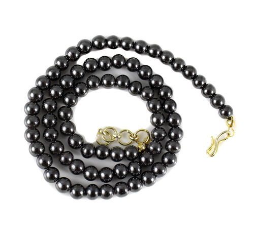 Hematite Beads Necklace