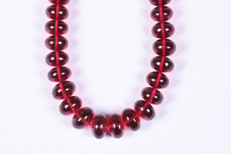 Pink Rubilite Quartz Necklace