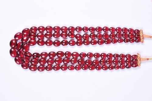 Rubilite Quartz Necklace
