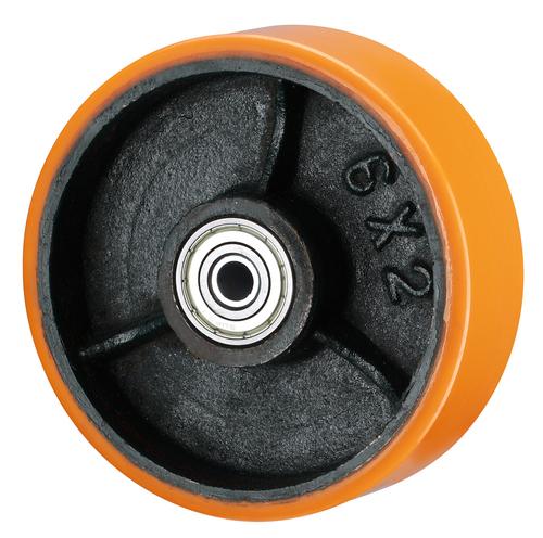 CI + PU Coated Wheels