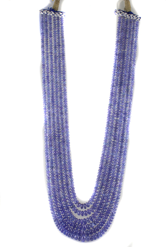 Tanzanite Beads Necklace