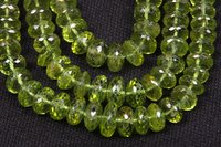 Peridot Faceted Necklace