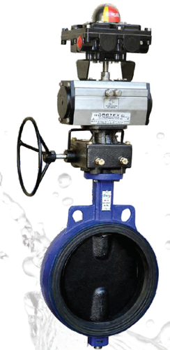 Pneumatically Actuated Butterfly Valves