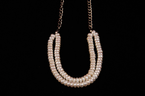 Pearl Button Beads Necklace