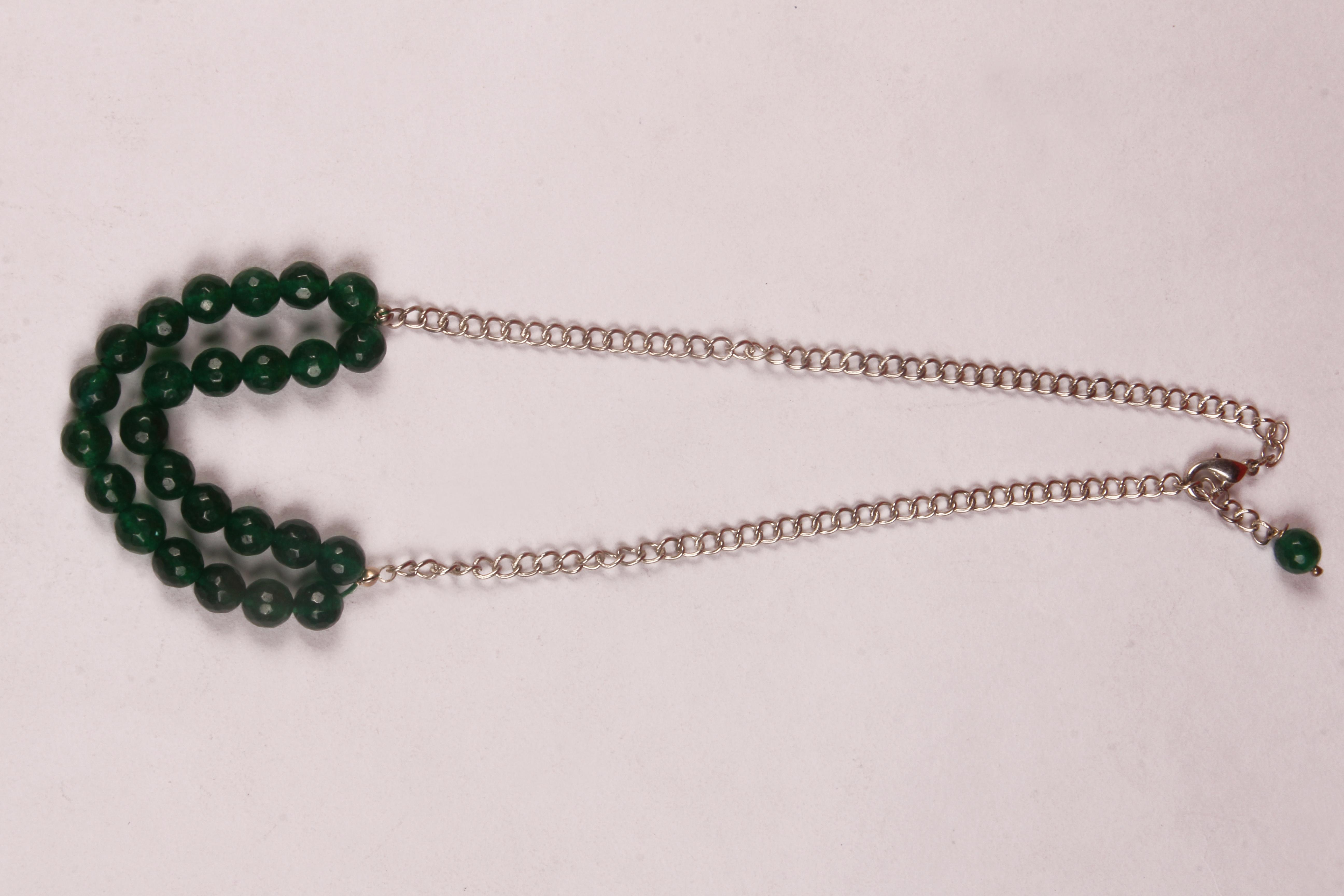 Green Jade Necklace