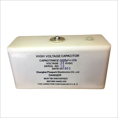 Capacitor 0.025uF 25kV,High Voltage Capacitor 25kV 25nF Pulse Discharge And DC