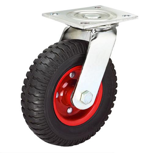 Rubber Caster Wheels Wheel Size: 25/38/50/75 Mm