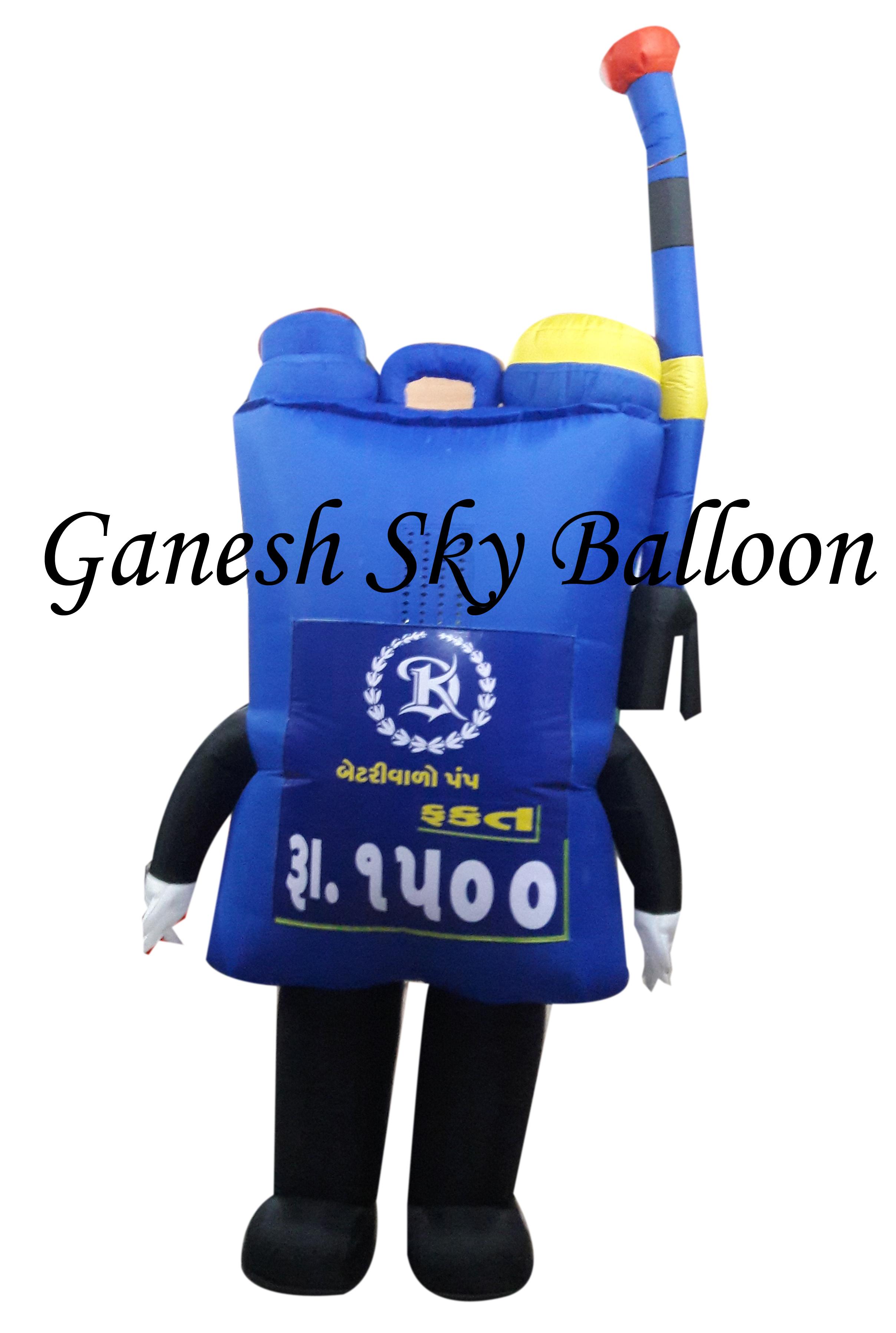 Mobile Walking Inflatable
