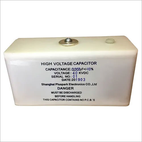 Capacitor 0.007uF 40kV,High Voltage Pulse Discharge Capacitor 40kV 7nF