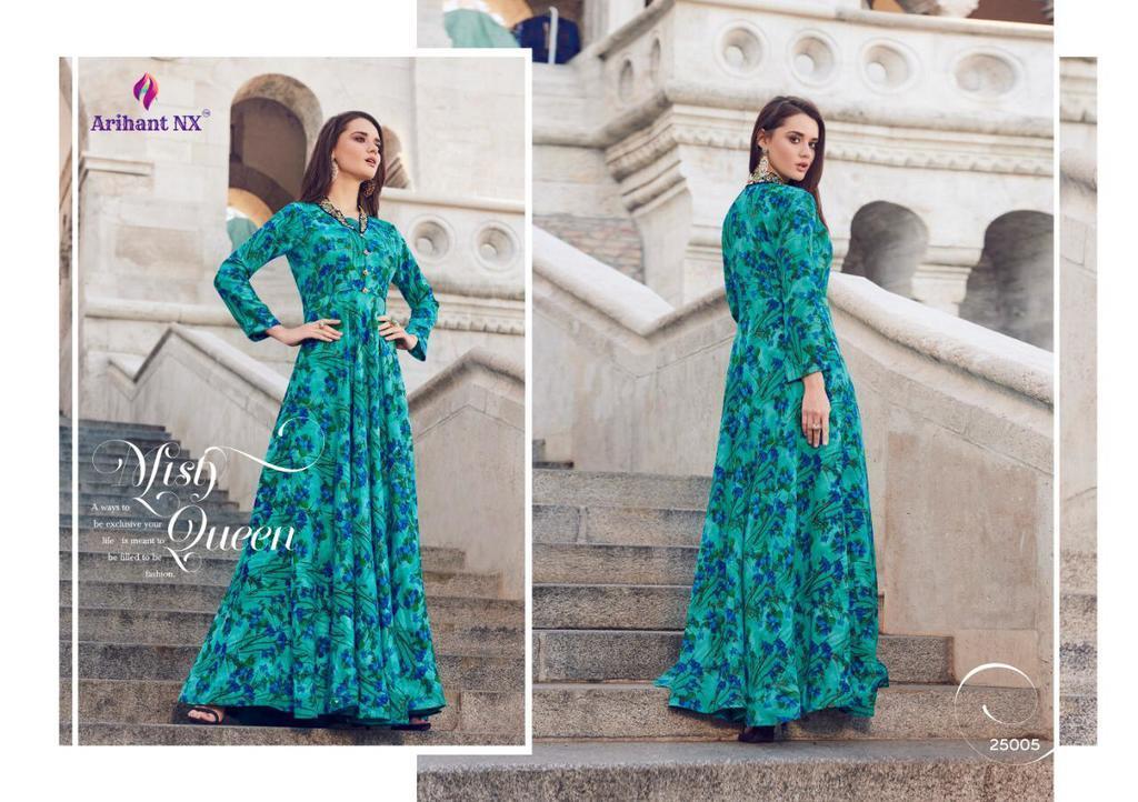 Fancy Anarkali Printed Kurtis
