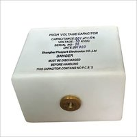 Capacitor 50kV 0.01uF,High Voltage Pulse Discharge Capacitor 50kV 10nF
