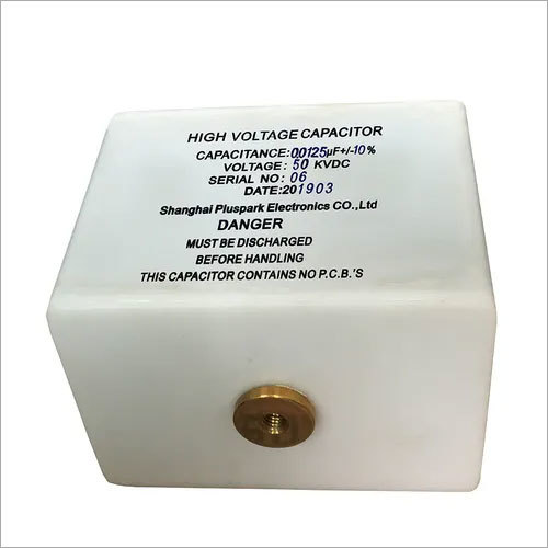 High Voltage Capacitor 50kV 0.0125uF,HV Pulse Discharge and DC Capacitor 50kV 12.5nF