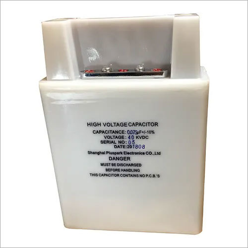 High Voltage Capacitor 40kV 0.075uF,HV Pulse Capacitor 40kV 75nF