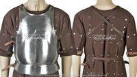 Large Size Medieval 15th Century Body Armor Breast Plate 18G Steel LARP Costume