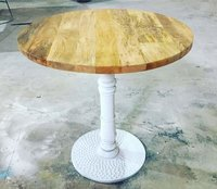 Wooden Metal Table