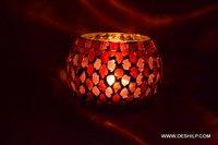 Orange Light Candle Holder