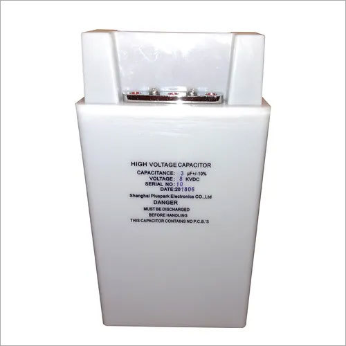 High Voltage Capacitor 3uF 8kV,1pps Pulse Capacitor 3000nF