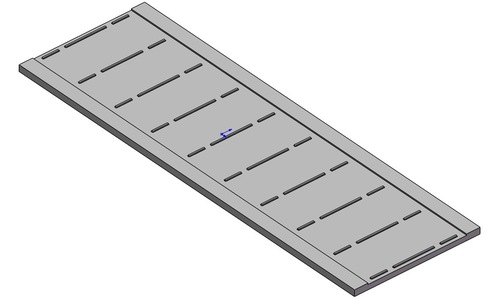 Cell Plate 63 x 156 (50 WATT)