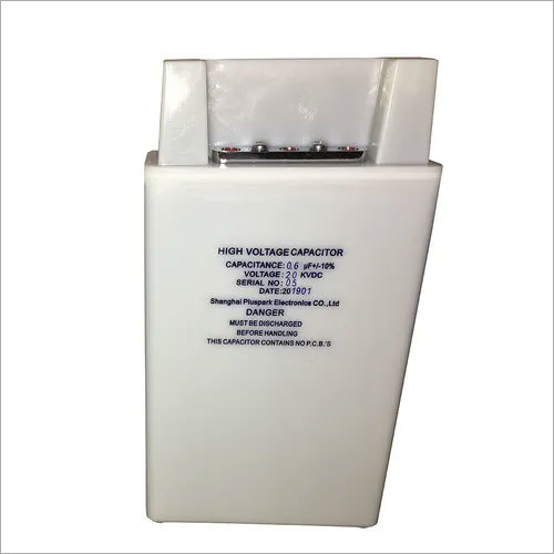 Capacitor 20kV 0.6uF,High Voltage Pulse Capacitor 20kV 600nF 1PPS