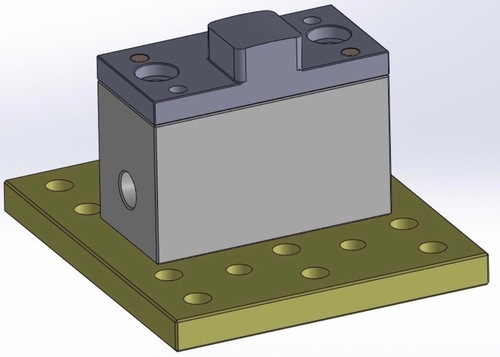 Hologram Mounting Assembly
