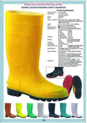 Coloured Gumboot