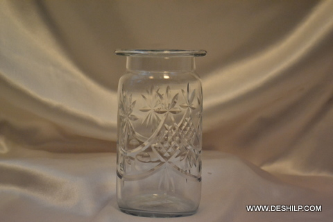 Glass Big Clear Flower Vase