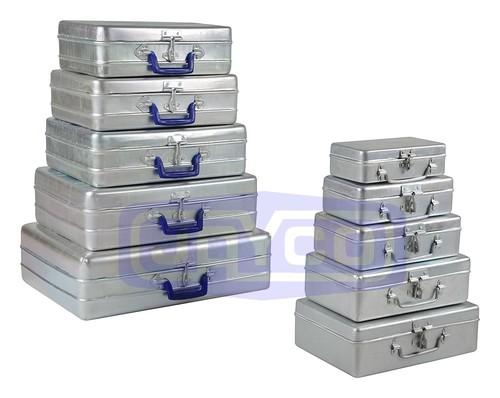Aluminium School Box and Bags