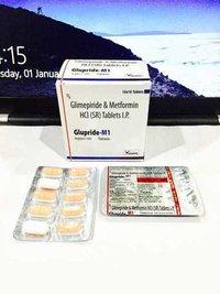 Glimepride 1 mg + Metformin 500 mg