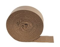 Brown Corrugated Flute Paper Roll
