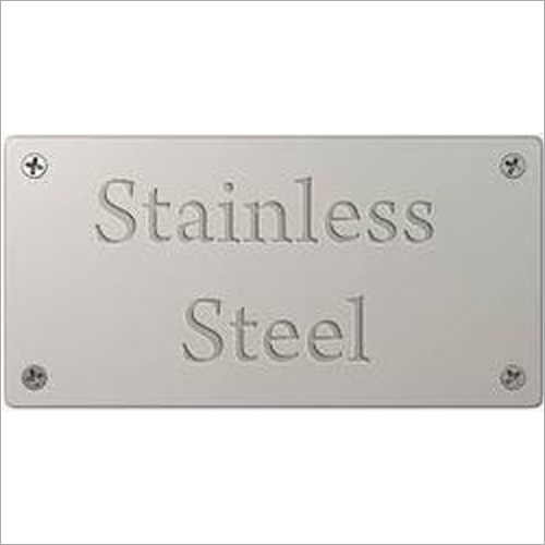 Stainless Steel Label