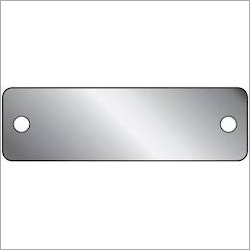 Aluminium Plain Name Plate