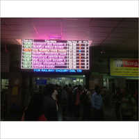 LED Coach Indication Indicator Boards
