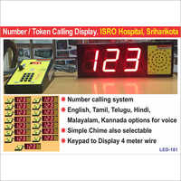 Token Display System