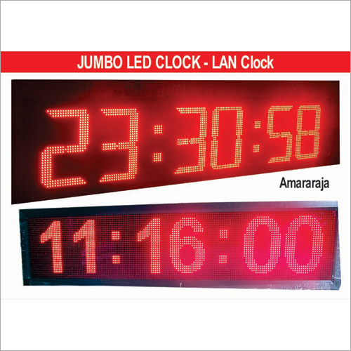 LED Jumbo Clocks