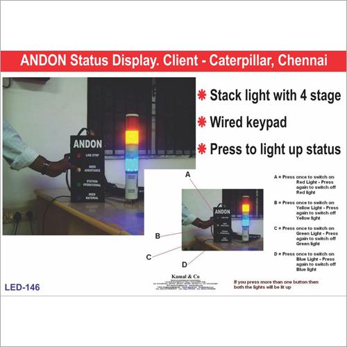 Andon Status Display
